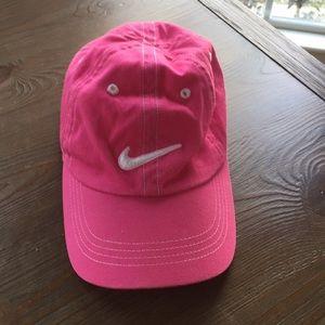 Girls pink Nike hat